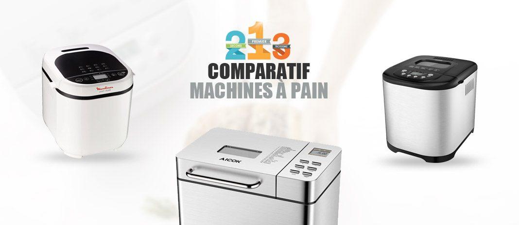 machines à pain comparatif