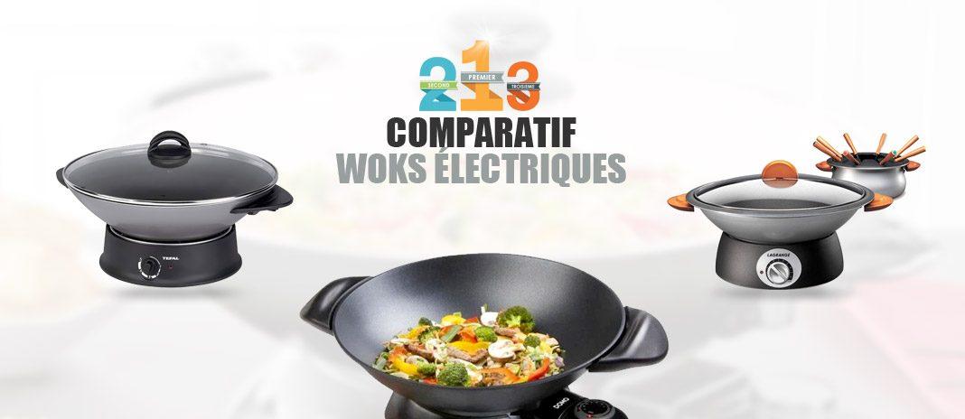 meilleur wok electrique