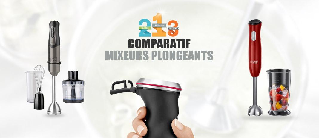 Meilleur Mixeur Plongeant → Comparatif | Meilleurs Prix 2020
