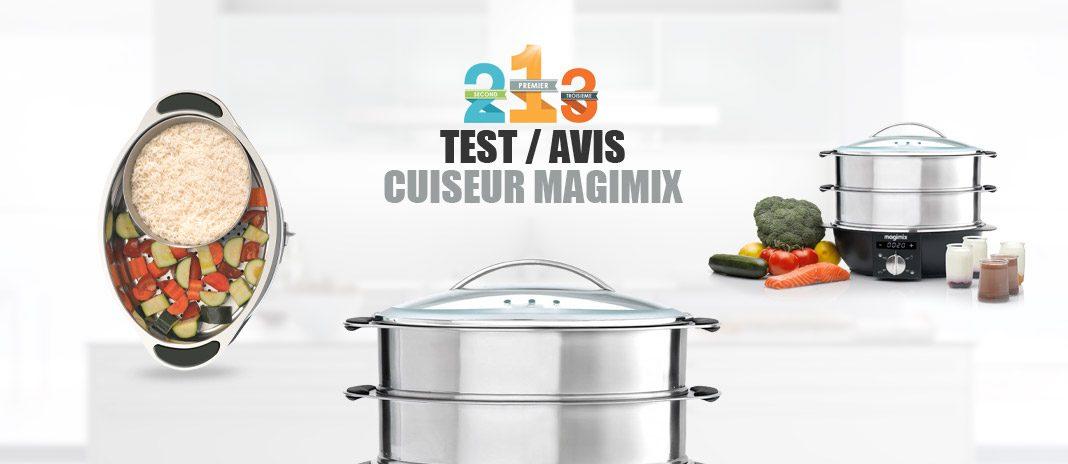 test cuiseur vapeur Mgimix