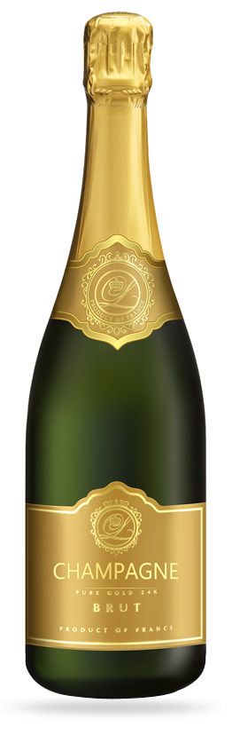 bouteille champagne 75cl