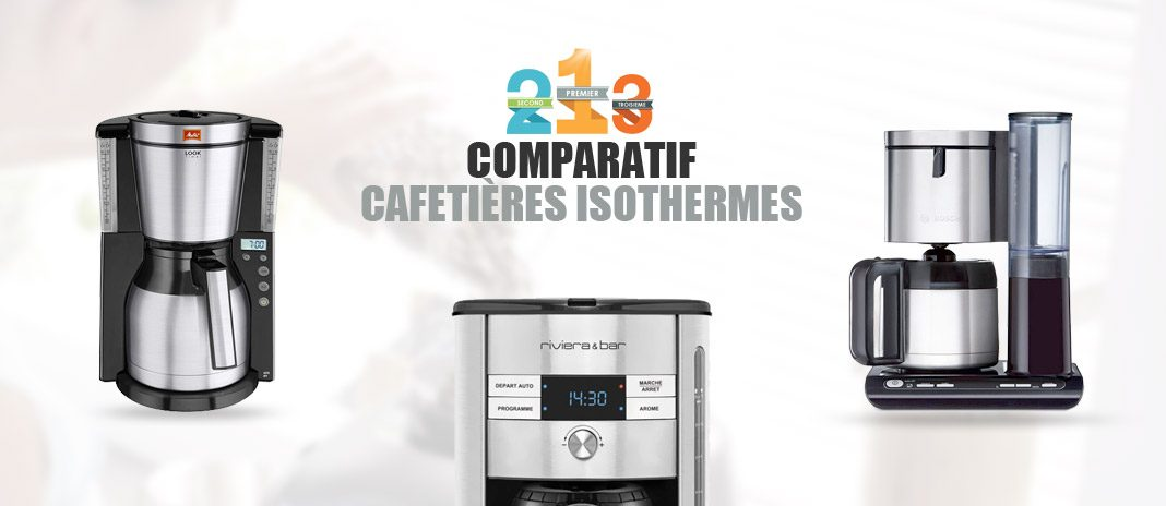 meilleure cafetiere isotherme
