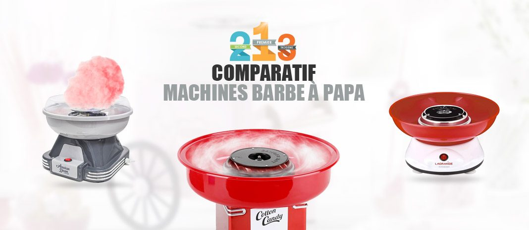 meilleure machine barbe papa