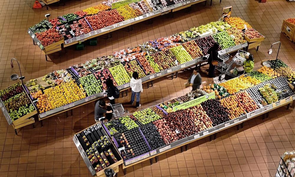 supermarche fruits et legumes