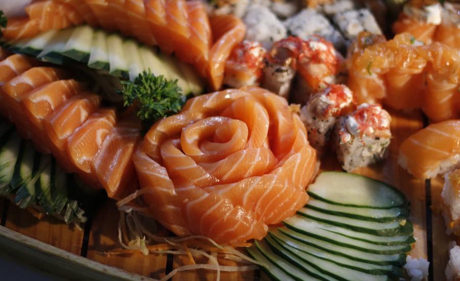saumon fume maison